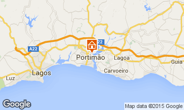Mapa Portimão Apartamentos 57407