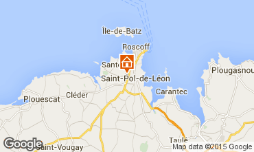 Mapa Saint-Pol-de-Léon Casa 80952
