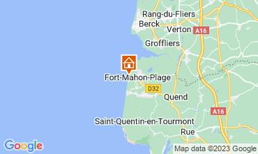 Mapa Fort Mahon Apartamentos 93061