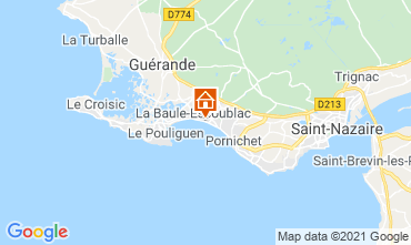 Mapa La Baule Estúdio 114466
