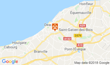 Mapa Deauville Mobil Home 117426
