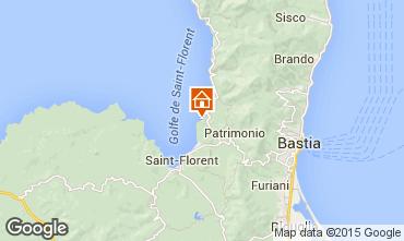 Mapa Saint Florent Mobil Home 101642