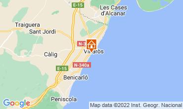 Mapa Vinaròs Vivenda 8180