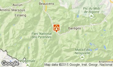 Mapa Luz Saint Sauveur Casa de turismo rural/Casa de campo 58906
