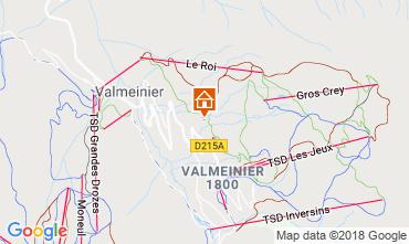 Mapa Valmeinier Chalé 116649