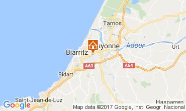 Mapa Biarritz Apartamentos 109818