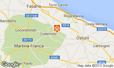 Mapa Cisternino Casa 31698
