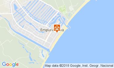 Mapa Empuriabrava Apartamentos 112753