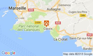 Mapa Cassis Apartamentos 112894