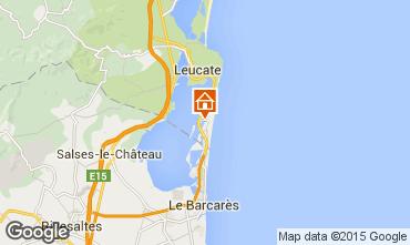 Mapa Port Leucate Apartamentos 81729