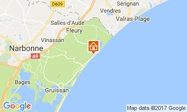 Mapa Saint Pierre la Mer Vivenda 112420
