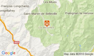 Mapa Les Menuires Estúdio 39459