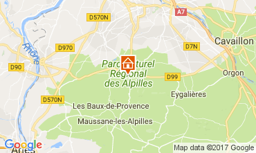Mapa Saint Rémy de Provence Apartamentos 112628