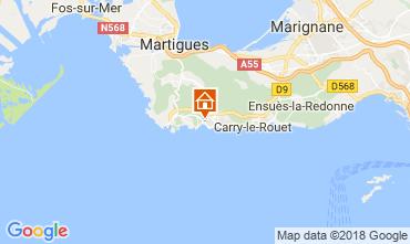 Mapa Sausset Les Pins Vivenda 115614