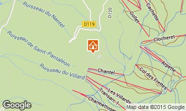 Mapa Les Arcs Estúdio 26873