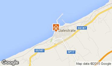 Mapa Balestrate Apartamentos 46160