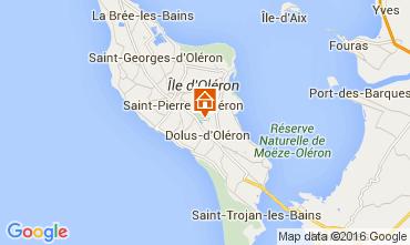 Mapa Dolus d'Oléron Mobil Home 52841