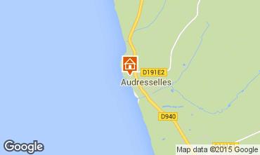 Mapa Audresselles Casa 76074