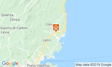 Mapa Ste Lucie de Porto Vecchio Apartamentos 101406