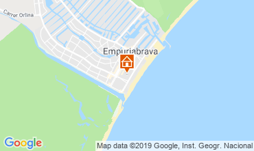 Mapa Empuriabrava Apartamentos 119101