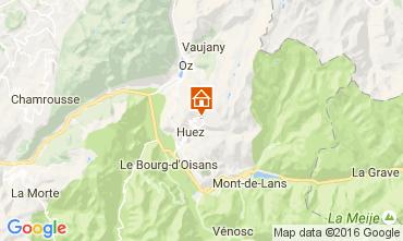 Mapa Alpe d'Huez Apartamentos 80044