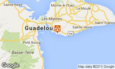 Mapa Gosier (Guadeloupe) Apartamentos 78415