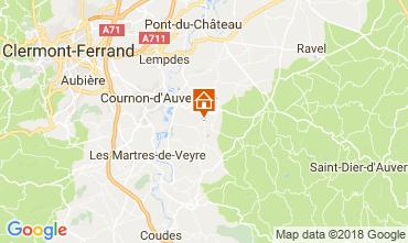 Mapa Clermont-Ferrand Apartamentos 115560