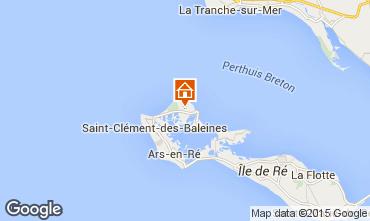 Mapa Les Portes-en-Ré Casa 6994