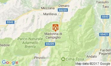 Mapa Madonna di Campiglio Apartamentos 28711