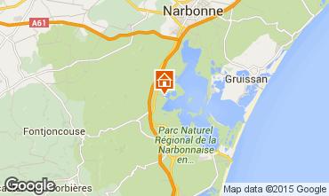 Mapa Peyriac-de-Mer Apartamentos 78748