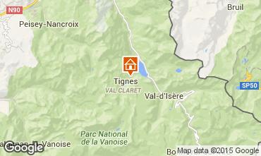 Mapa Tignes Apartamentos 60012