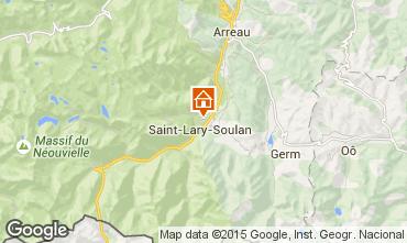 Mapa Saint Lary Soulan Apartamentos 87371