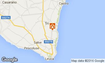 Mapa Marina di Novaglie Apartamentos 102611