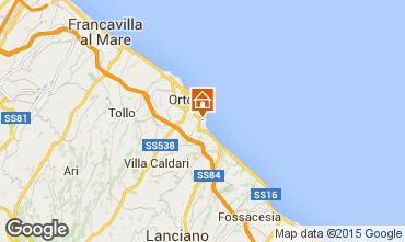 Mapa Ortona Casa 71938