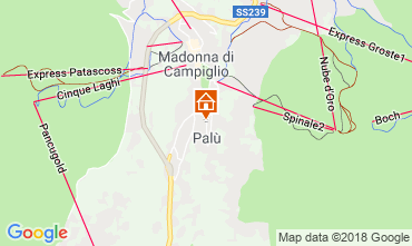 Mapa Madonna di Campiglio Apartamentos 52141