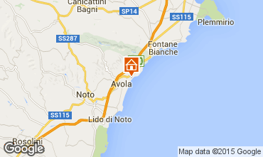 Mapa Avola Vivenda 69066