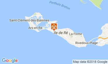 Mapa La Couarde-sur-Mer Casa 113774