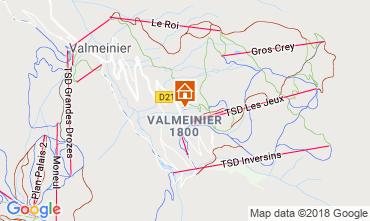 Mapa Valmeinier Apartamentos 117420