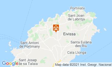 Mapa Santa Eulalia del R�o Casa de turismo rural/Casa de campo 64142