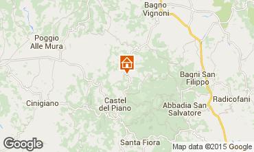 Mapa Montalcino Apartamentos 74222
