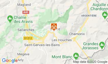 Mapa Chamonix Mont-Blanc Estúdio 90652