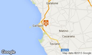 Mapa Gallipoli Vivenda 92673
