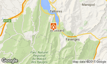 Mapa Annecy Chal� 97184