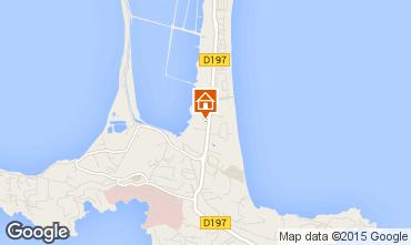Mapa Hyères Apartamentos 69390