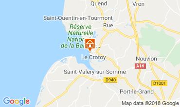 Mapa Le Crotoy Apartamentos 117275