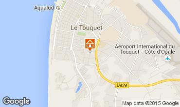 Mapa Le Touquet Apartamentos 92348