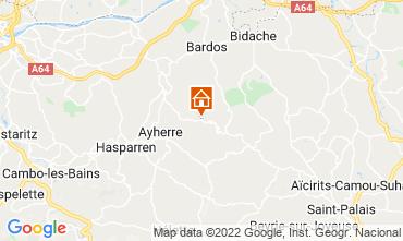 Mapa Biarritz Chalé 69281