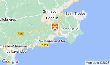 Mapa La Croix Valmer Vivenda 109448