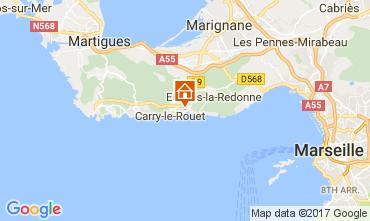 Mapa Carry le Rouet Vivenda 112762