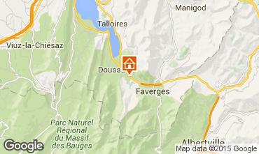Mapa Annecy Casa de turismo rural/Casa de campo 101918